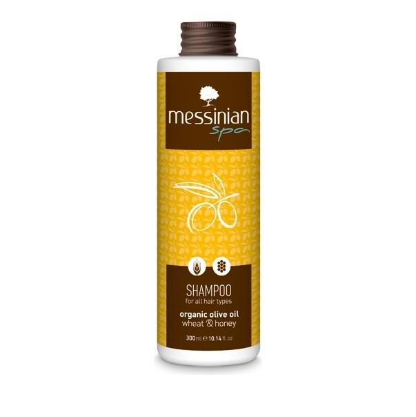 Messinian Spa Shampoo All Types Wheat-Honey (Σιτάρι-Μέλι) 300ml