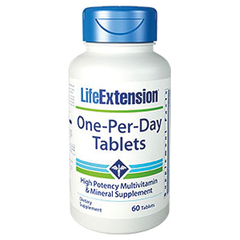 Life Extension One-Per-Day, 60 Δισκία