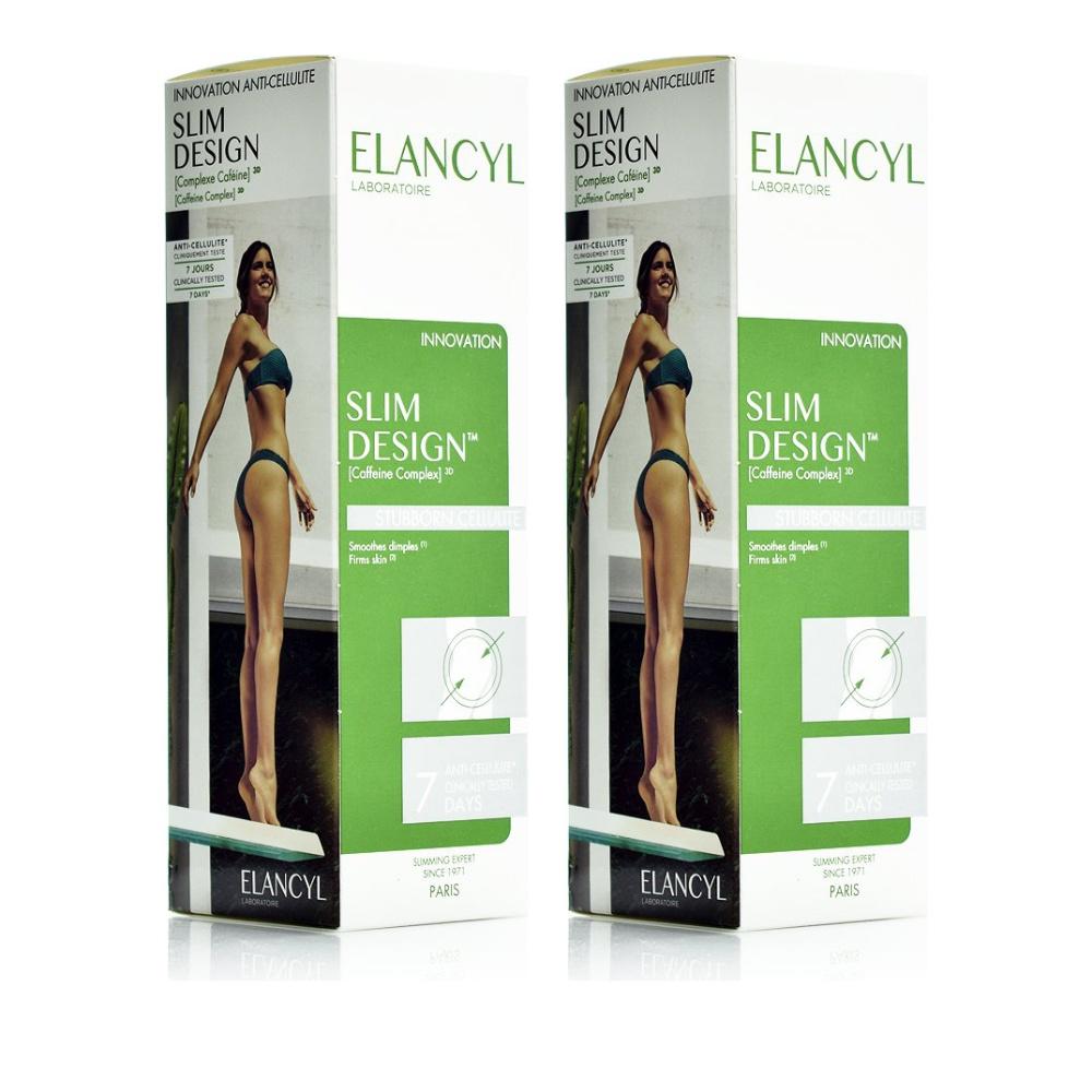 Elancyl Slim Design Ορός Αδυνατίσματος 2x200ml