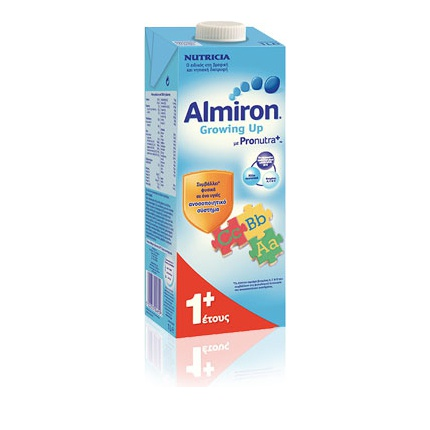 Nutricia Almiron Growing Up 1+ Γάλα για Νήπια σε Υγρή Μορφή 1Lt