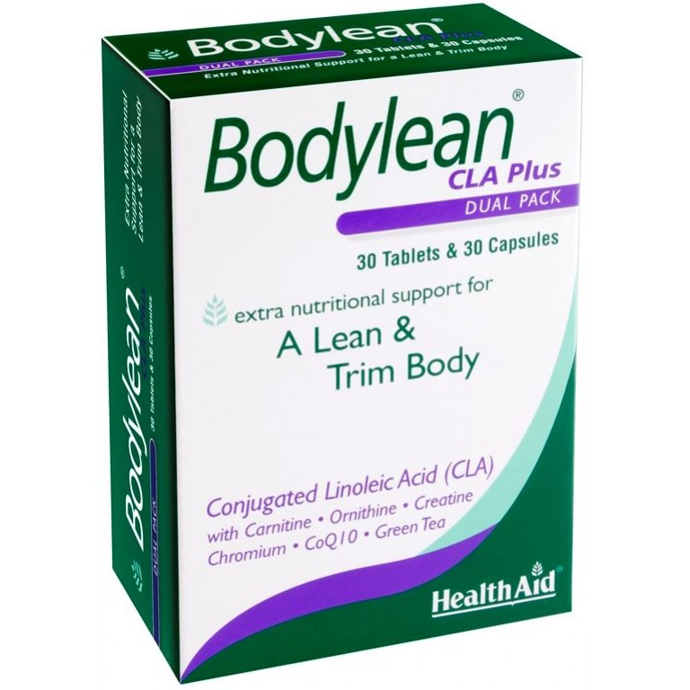 Health Aid Bodylean CLA Plus Dual Pack 30 tabs & 30 caps