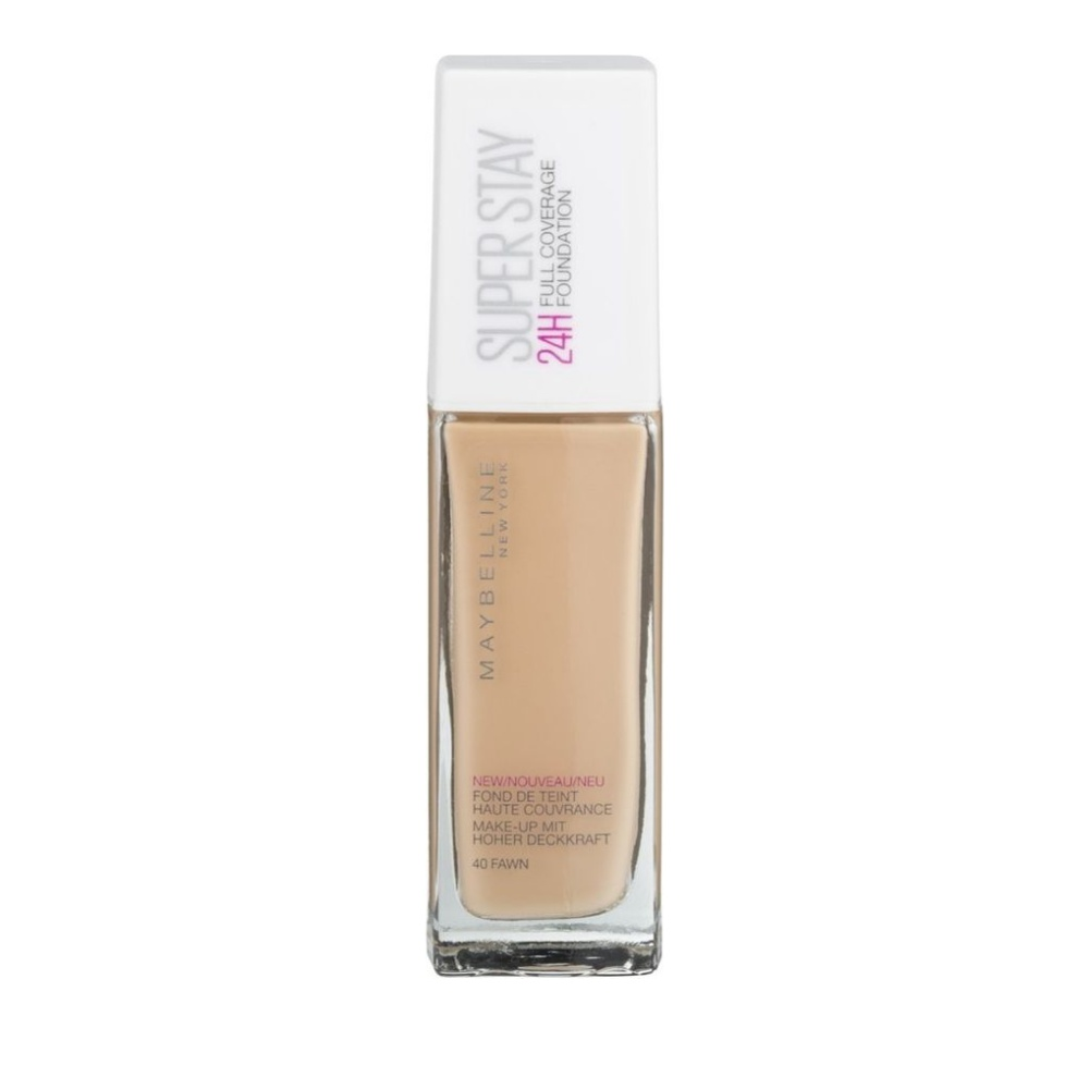 Maybelline Super Stay 24h Full Coverage Foundation 40 Fawn 30ml