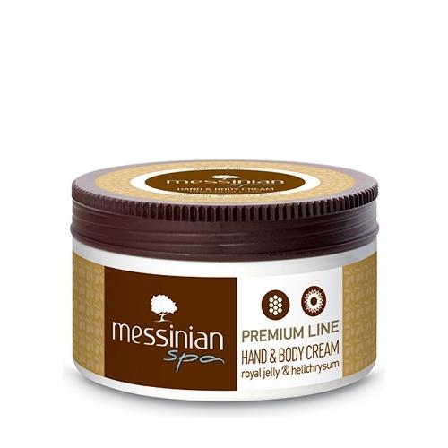 Messinian Spa Hand & Body Cream Premium Line Royal Jelly & Helichrysum 250ml