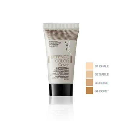 BioNike Defence Color Cover, Διορθωτικό Υγρό-Φον Ντε Τεν, 04 Dore 30ml
