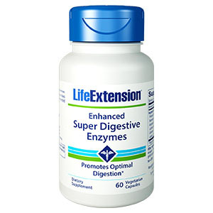 Life Extension Enhanced Super Digestive Enzymes, 60 Κάψουλες