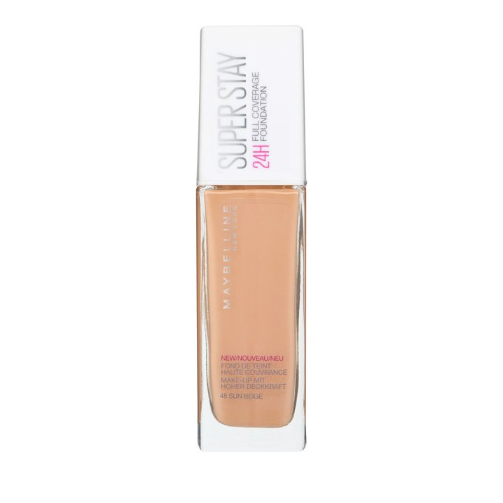 Maybelline Super Stay 24h Full Coverage Foundation 48 Sun Beige 30ml