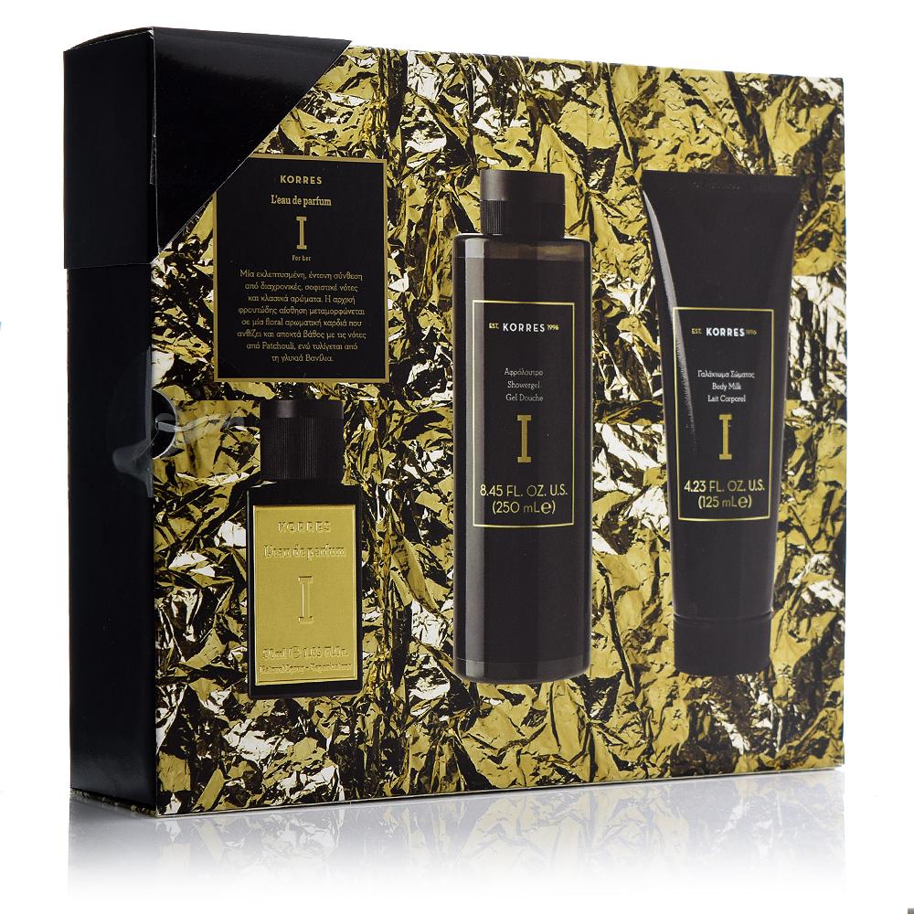 Korres Promo Premium L'eau De Parfum Ι Γυναικείο Άρωμα 50ml & ΔΩΡΟ Γαλάκτωμα Σώματος 125ml & Αφρόλουτρο 250ml