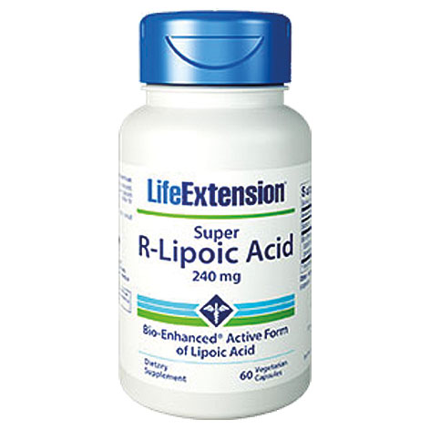 Life Extension Super R-Lipoic Acid 240Mg, 60 Κάψουλες