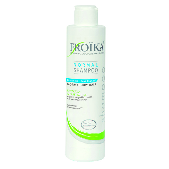 Froika, Normal Shampoo, Σαμπουάν, Κανονικά-Ξηρά Μαλλιά, 200ml