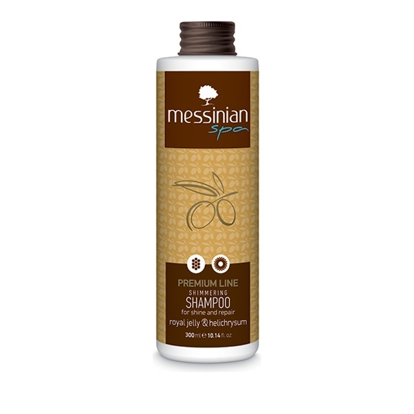 Messinian Spa Premium Line Shimmering Shampoo Royal Jelly & Helichrysum 300ml