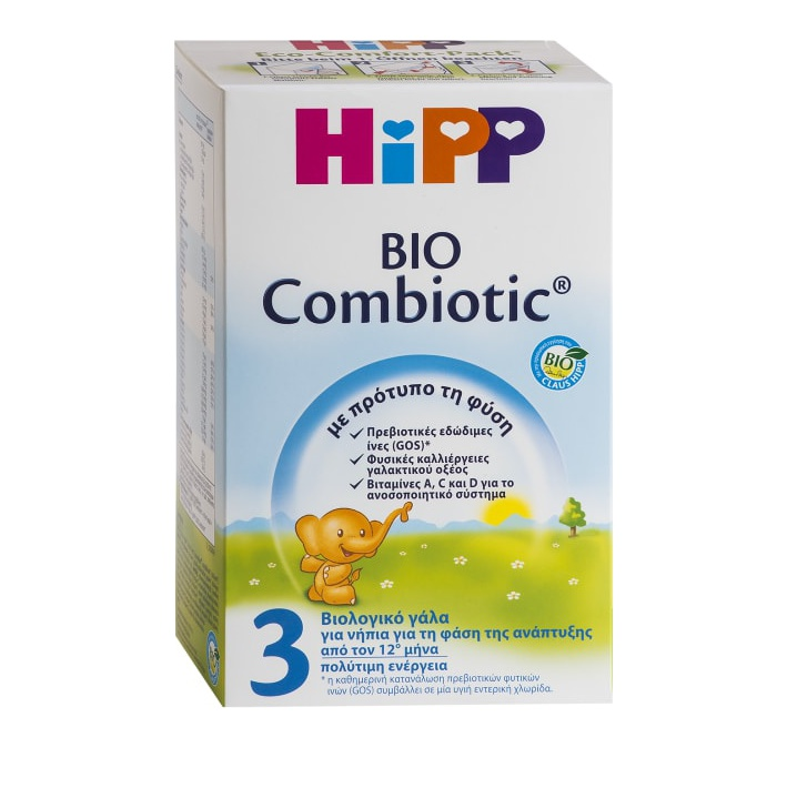 fa1ef3d9c22 HiPP 3 Bio Combiotic Βρεφικό Γάλα από τον 12ο μήνα 600gr   Wecare ...