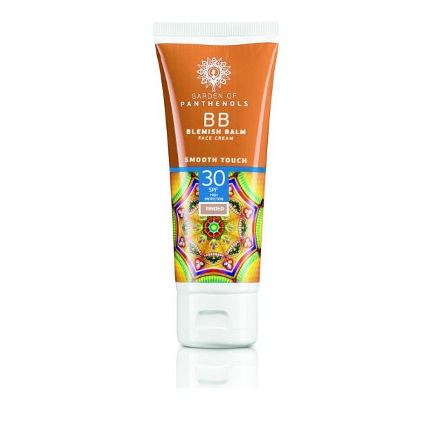 Garden of Panthenols BB Blemish Balm Face Cream Smooth Touch SPF30+,  Ενυδατική Κρέμα BB με Χρώμα 50ml