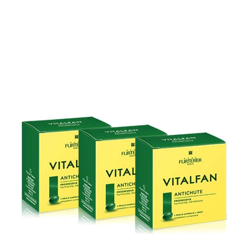 Rene Furterer Vitalfan Antichute Progressive Συμπλήρωμα Διατροφής για  Ενδυνάμωση Μαλλιών 30Caps 2+1 ΔΩΡΟ 8486a8a4350