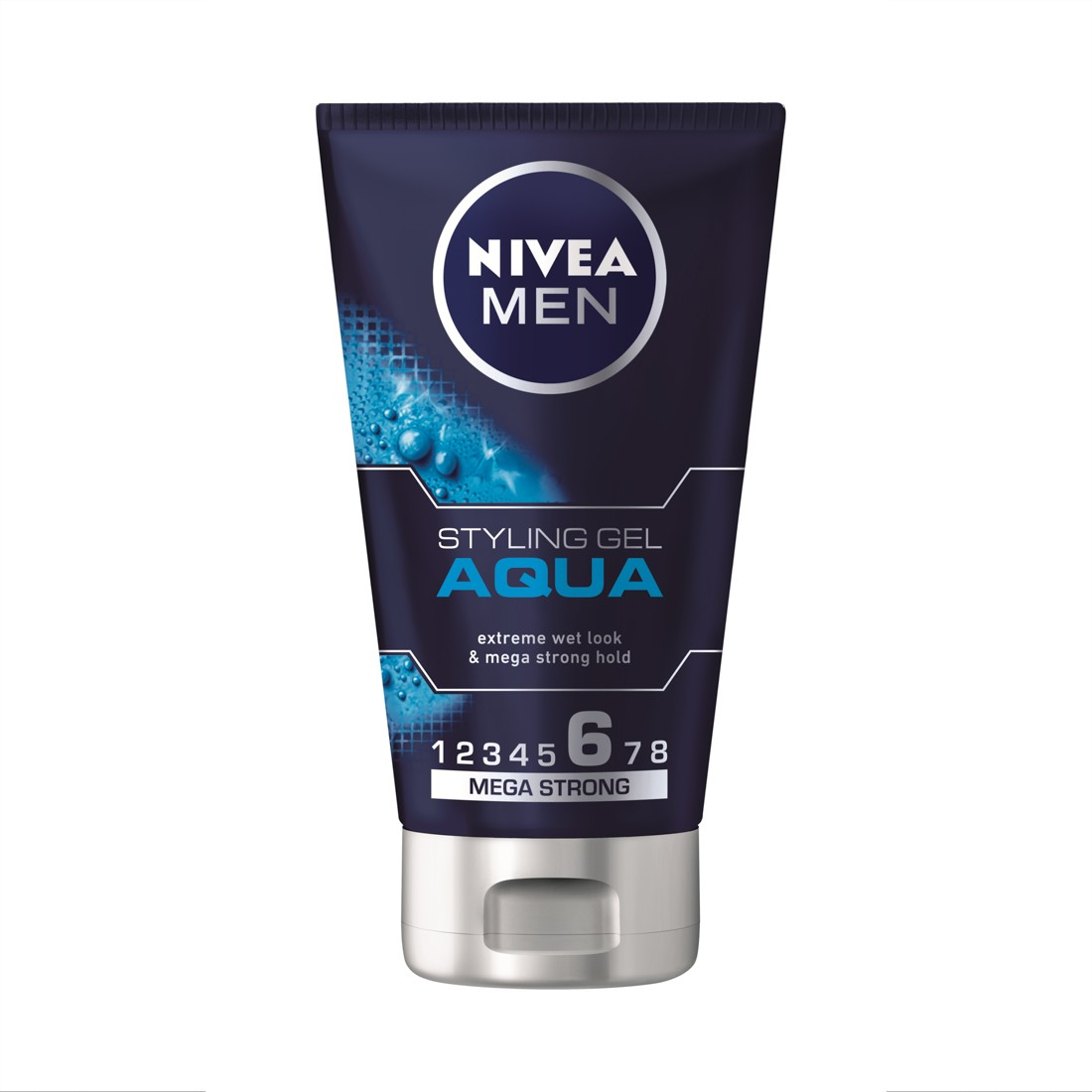 Nivea Men Styling Gel Aqua Τζελ για Wet Look 150ml