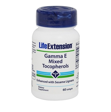 Life Extension Gamma E Mixed Tocopherol Αντιοξειδωτική Δράση 60Softgels