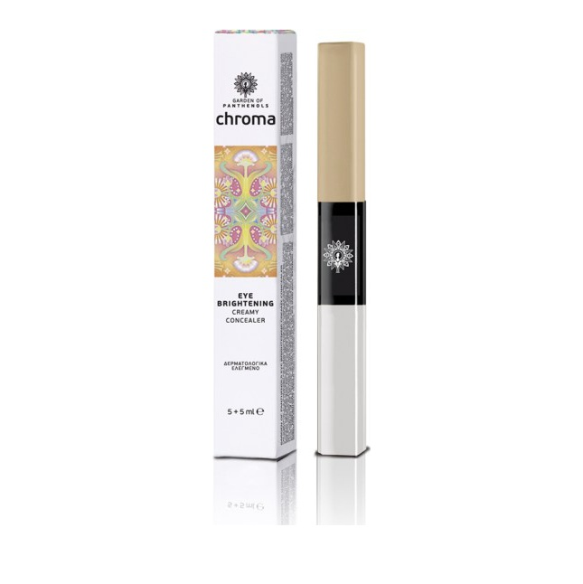 Garden of Panthenols Eye Brightening Creamy Concealer Medium (Beige) 10ml