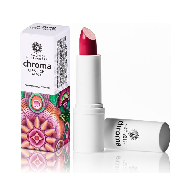 Garden Of Panthenols Chroma Lipstick G-0390 Lethal Beauty 4gr