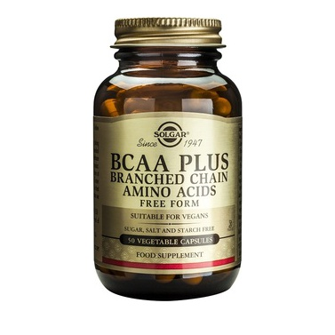 Solgar BCAA Plus, 50 Caps