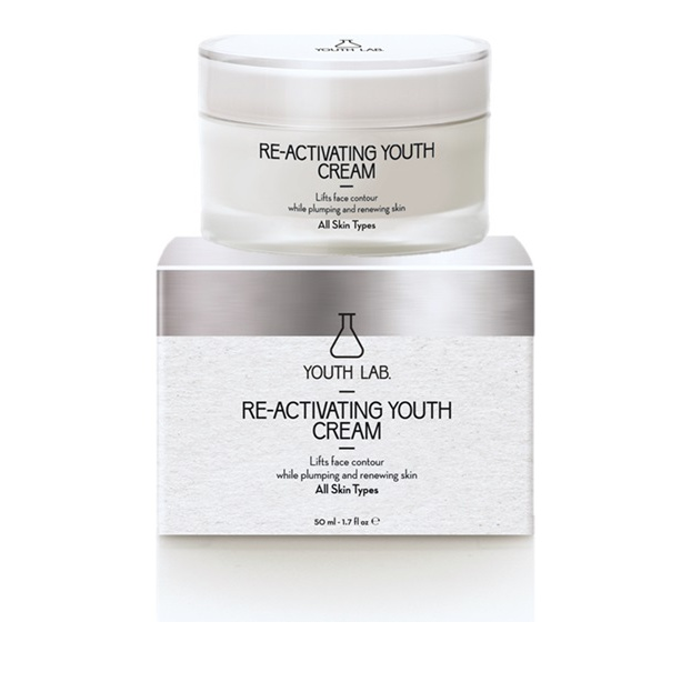 Youth Lab Re-Activating Youth Cream All Skin Types, Κρέμα Ολικής Αναδόμησης 50ml