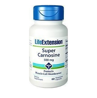 Life Extension Super Carnosine 500mg 60 Κάψουλες