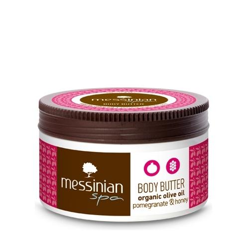 Messinian Spa Body Βutter Pomegranate – Honey (Ρόδι-Μέλι) 80ml