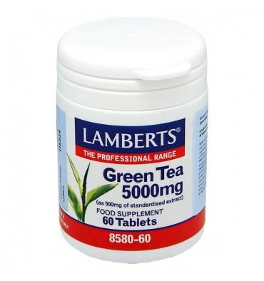 Lamberts Green Tea Πράσινο Τσάι 5000mg, 60 tablets