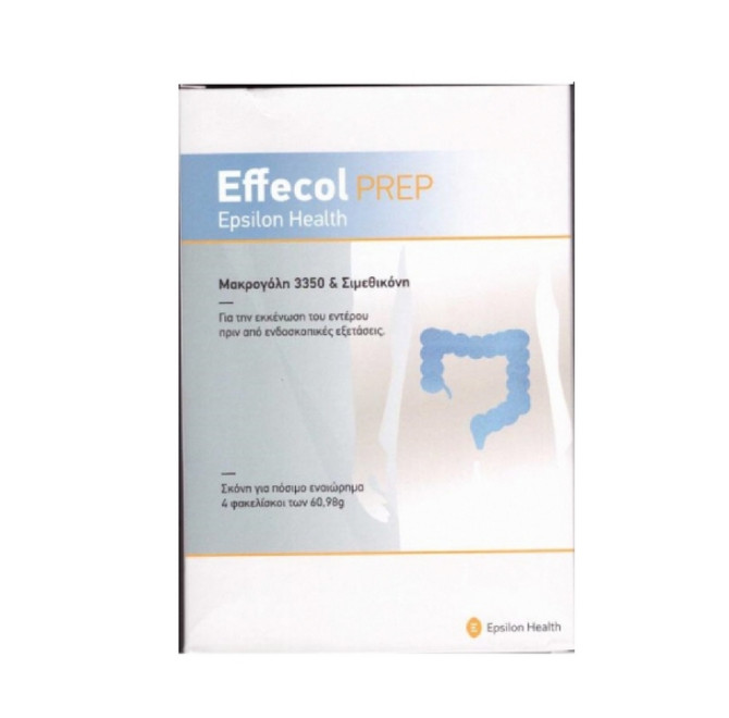 Effecol Prep Epsilon Health(Box Of 4 Sachets)