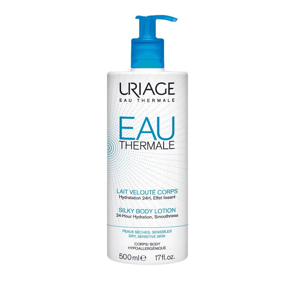 Uriage Eau Thermale Lait Veloute Corps Ενυδατικό Γαλάκτωμα Σώματος 500ml