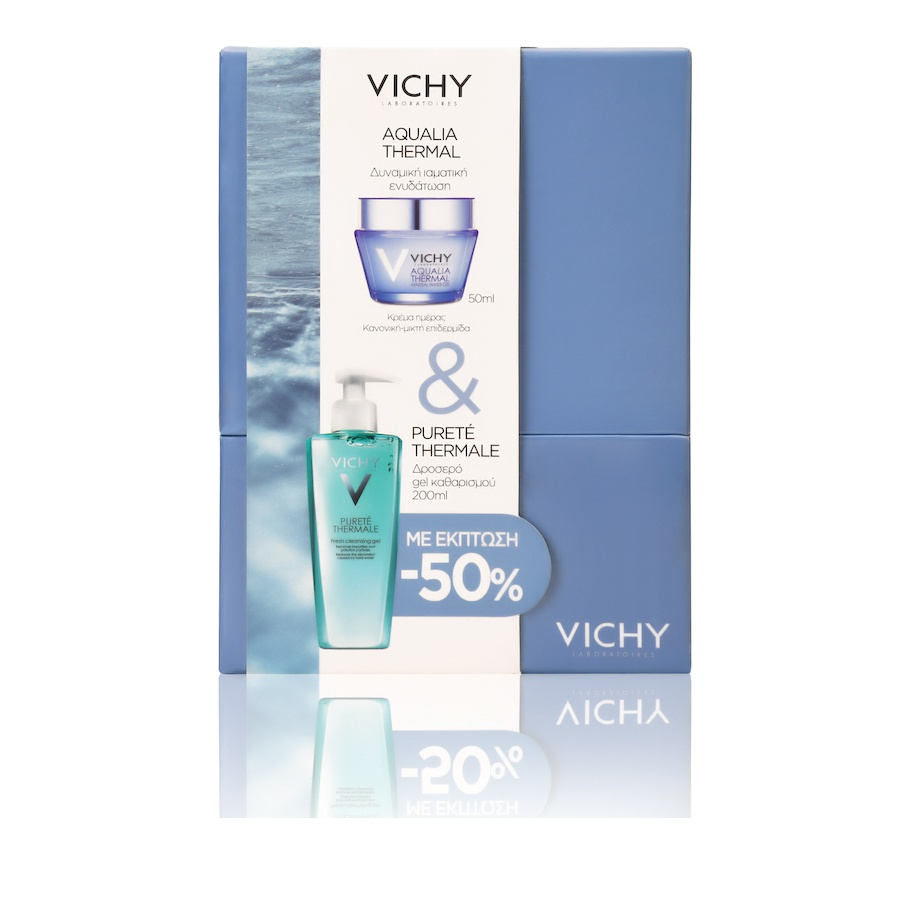 Vichy Promo Aqualia Thermal Κανονικές-Μικτές 50ml & Purete Thermale Cleansing Gel 200ml
