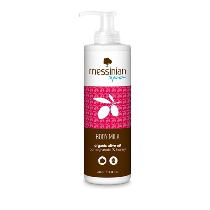 Messinian Spa Body Milk Pomegranate – Honey (Ρόδι-Μέλι) 300ml