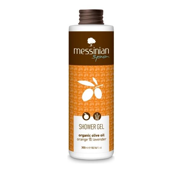 Messinian Spa Shower gel orange-lavender (πορτοκάλι- λεβάντα) 300ml