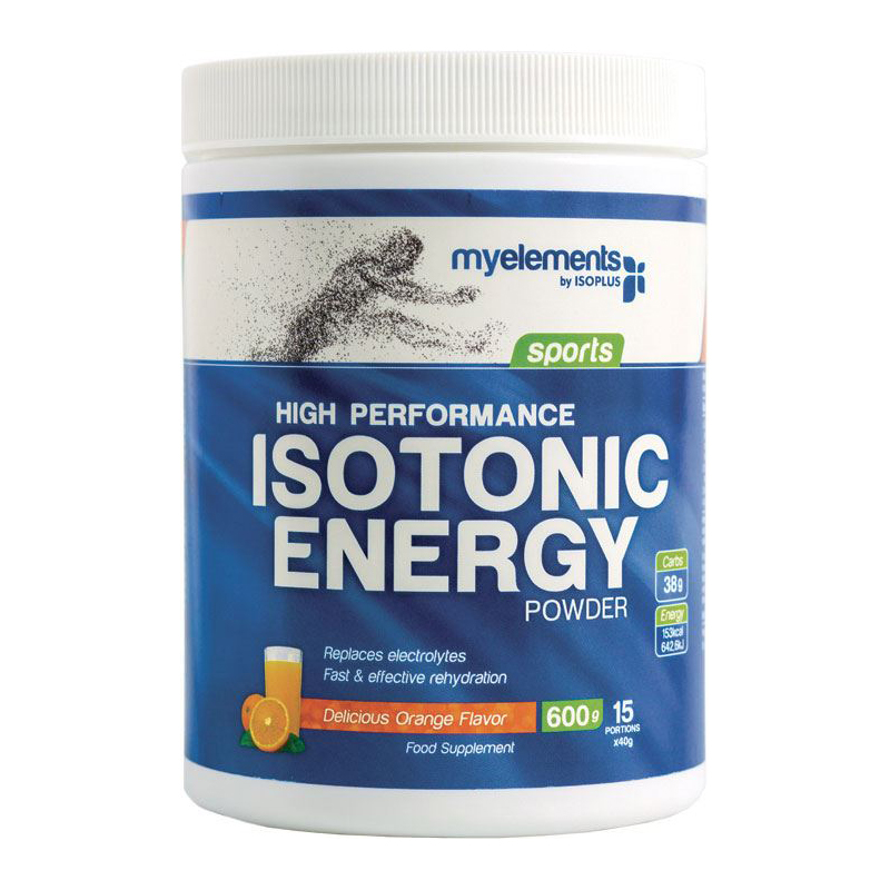 My Elements High Performance Isotonic Drink Orange Powder, Iσοτονική Φόρμουλα σε Σκόνη 600gr