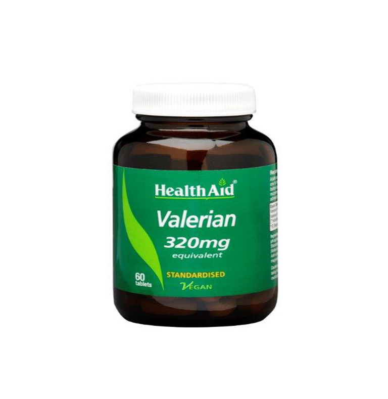 Health Aid Valerian 320mg, 60tablets