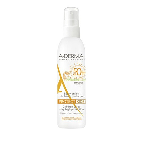 A-Derma Protect Kids Spray Enfant SPF 50+, Παιδικό Αντηλιακό 200ml