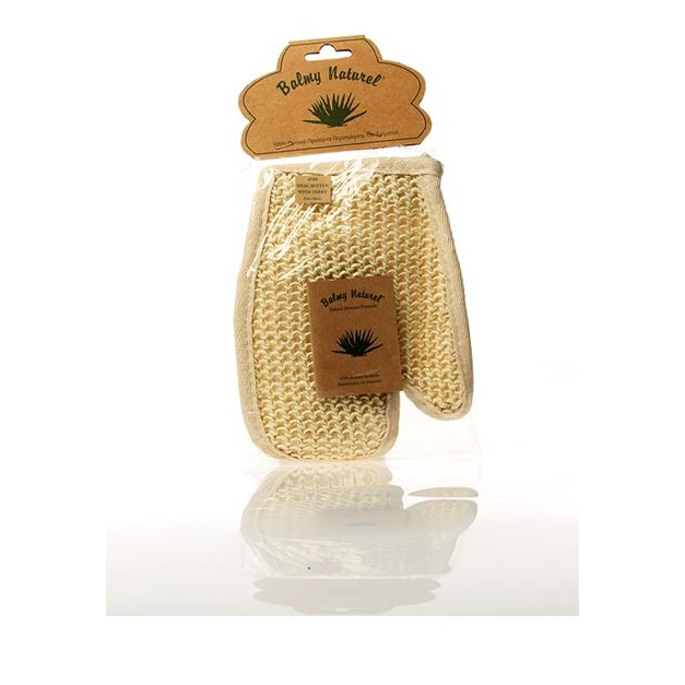 Balmy Naturel Sisal Mitten with Terry, Γάντι Sisal