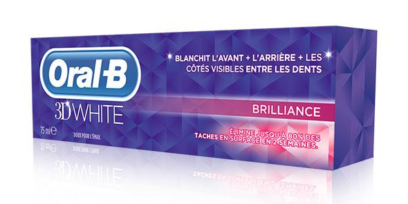 Oral B 3D White Brilliance 75ml