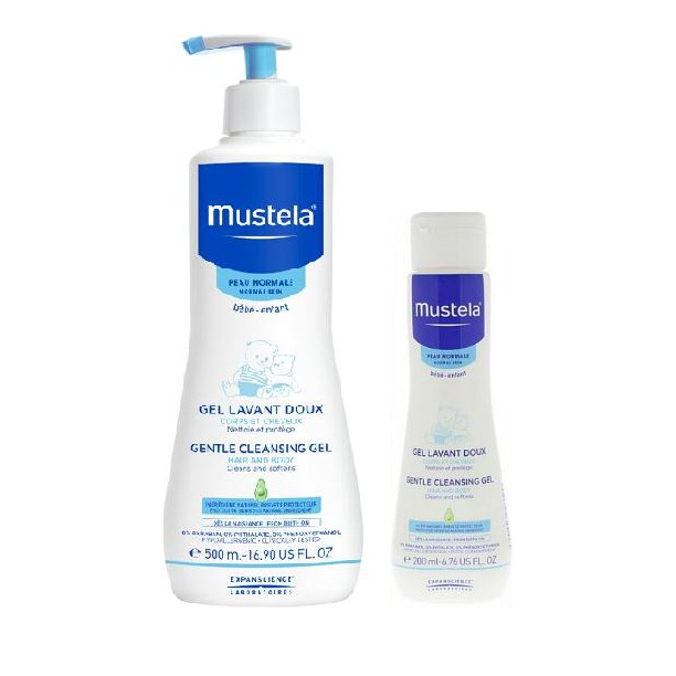 Mustela Promo Gentle Cleansing Gel Hair & Body 500ml & ΔΩΡΟ 200ml