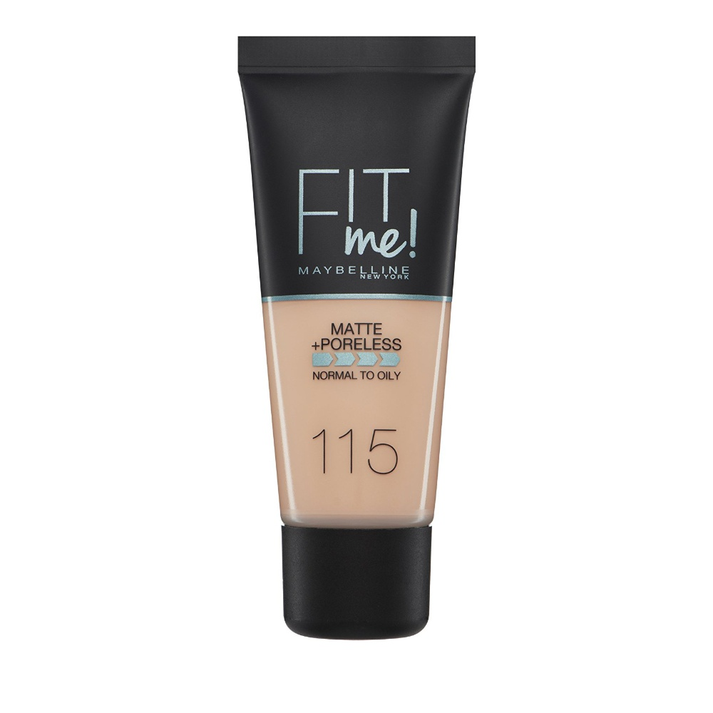 Maybelline Fit Me Matte & Poreless Foundation 115 Ivory 30ml