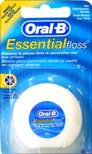 Oral-B EssentialFloss Waxed 50m