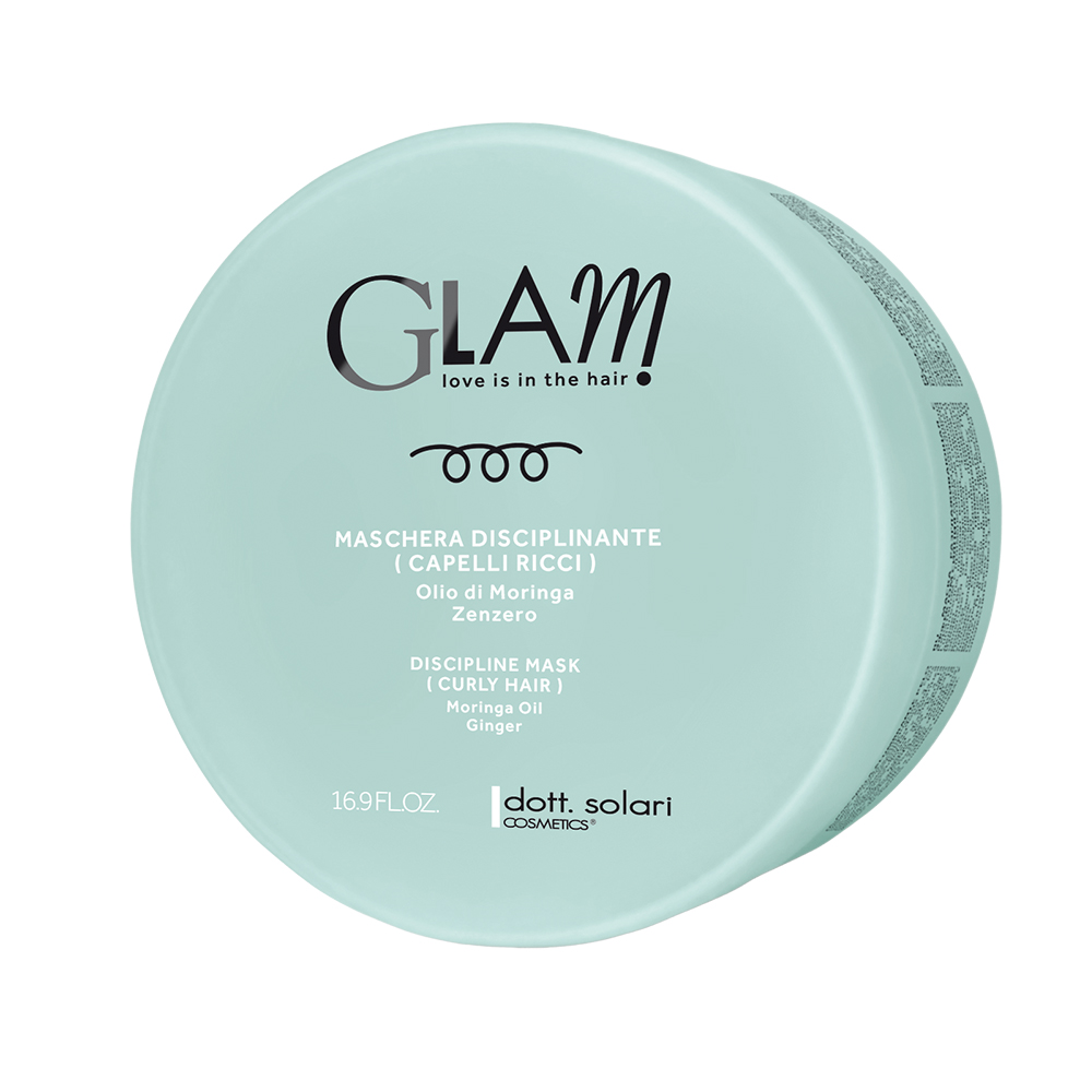 Glam Μασκα Discipline (Curly Hair) -500ml