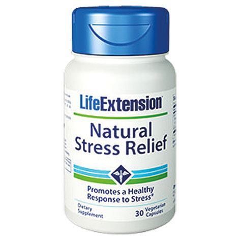Life Extension Natural Stress Relief Formula, 30 Κάψουλες