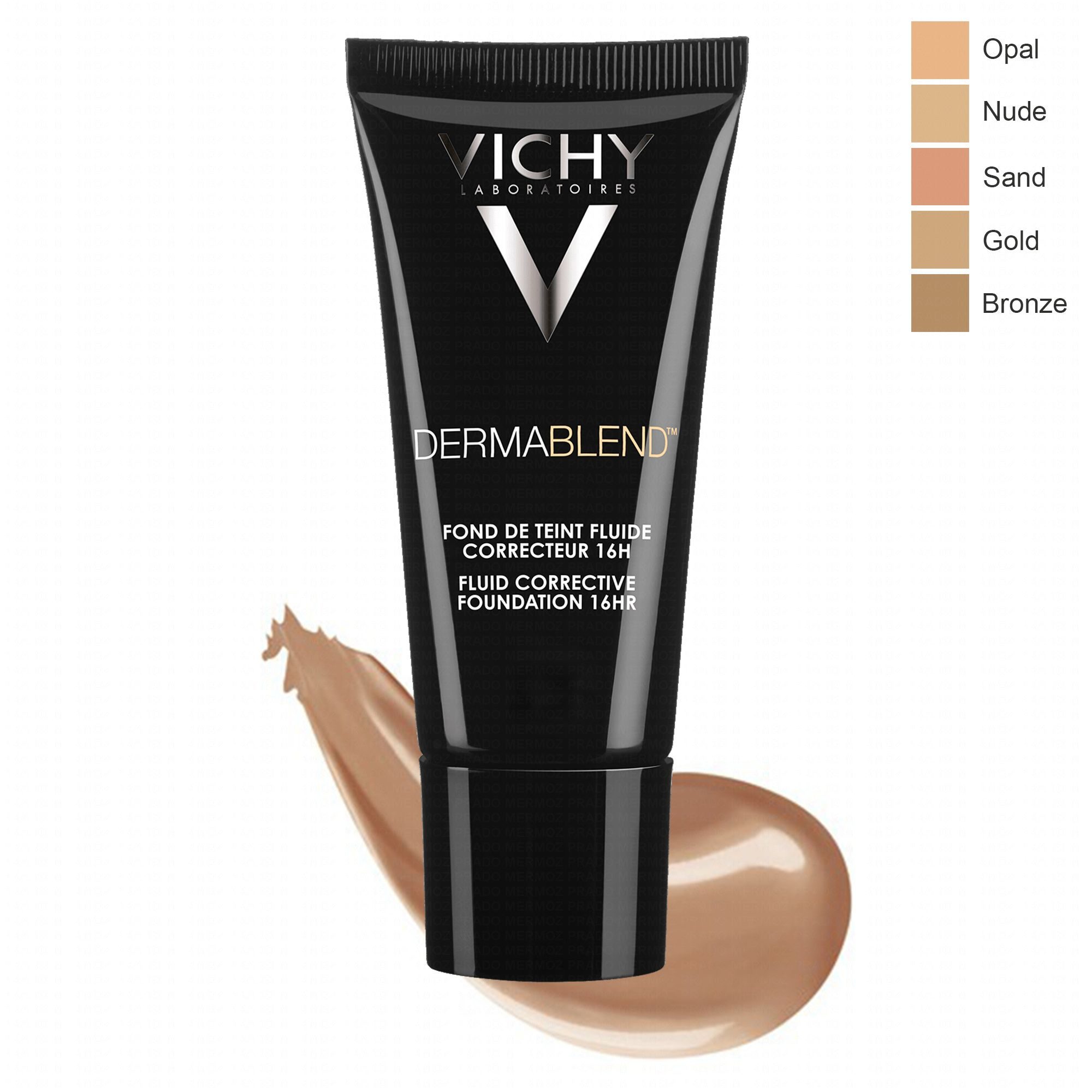 VICHY DERMABLEND CORRECTEUR FDT  Gold 45 - Διορθωτικό make-up με εύπλαστη υφή 30ml, SPF35