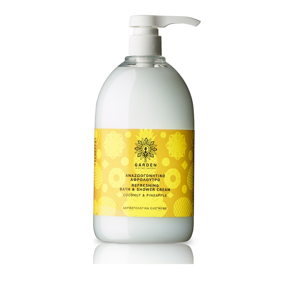 Garden of Panthenols Αρωματικό Αφρόλουτρο Coconut & Pineapple 1000ml