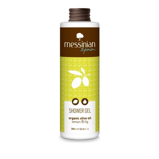 Messinian Spa Shower Gel Lemon-Fig (Λεμόνι-Σύκο) 300ml