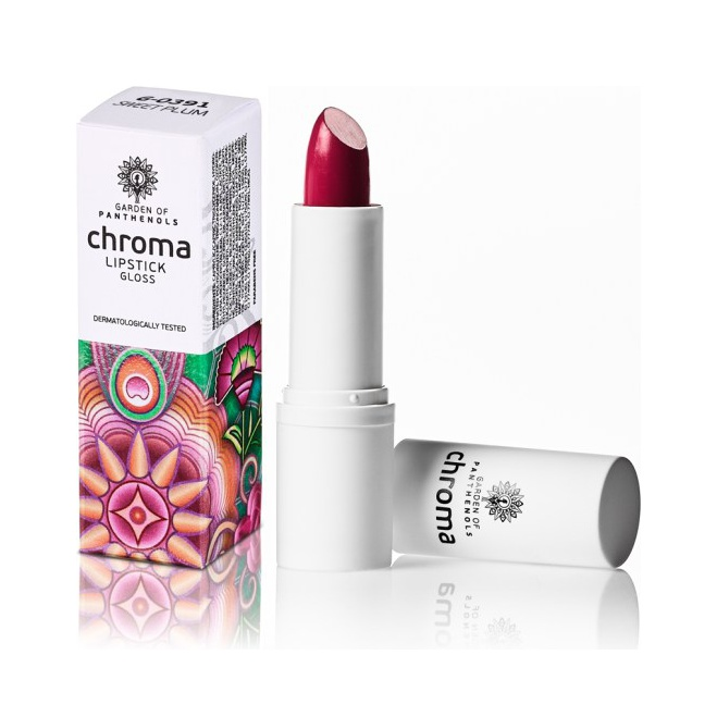 Garden Of Panthenols Chroma Lipstick G-0391 Sweet Plum 4gr