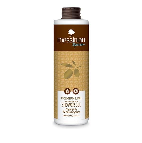 Messinian Spa Premium Line Shimmering Shower Gel Royal Jelly & Helichrysum 300ml