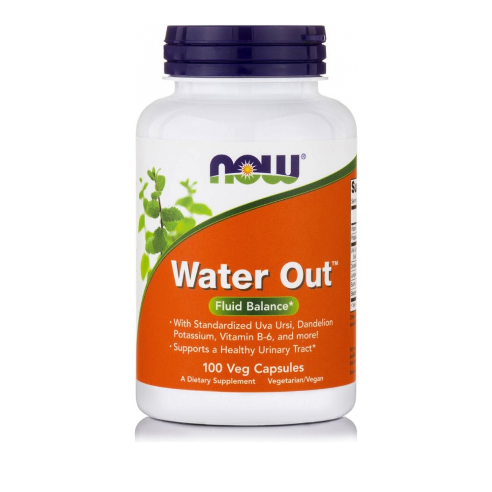 Now Foods Water Out 100 Veg Capsules
