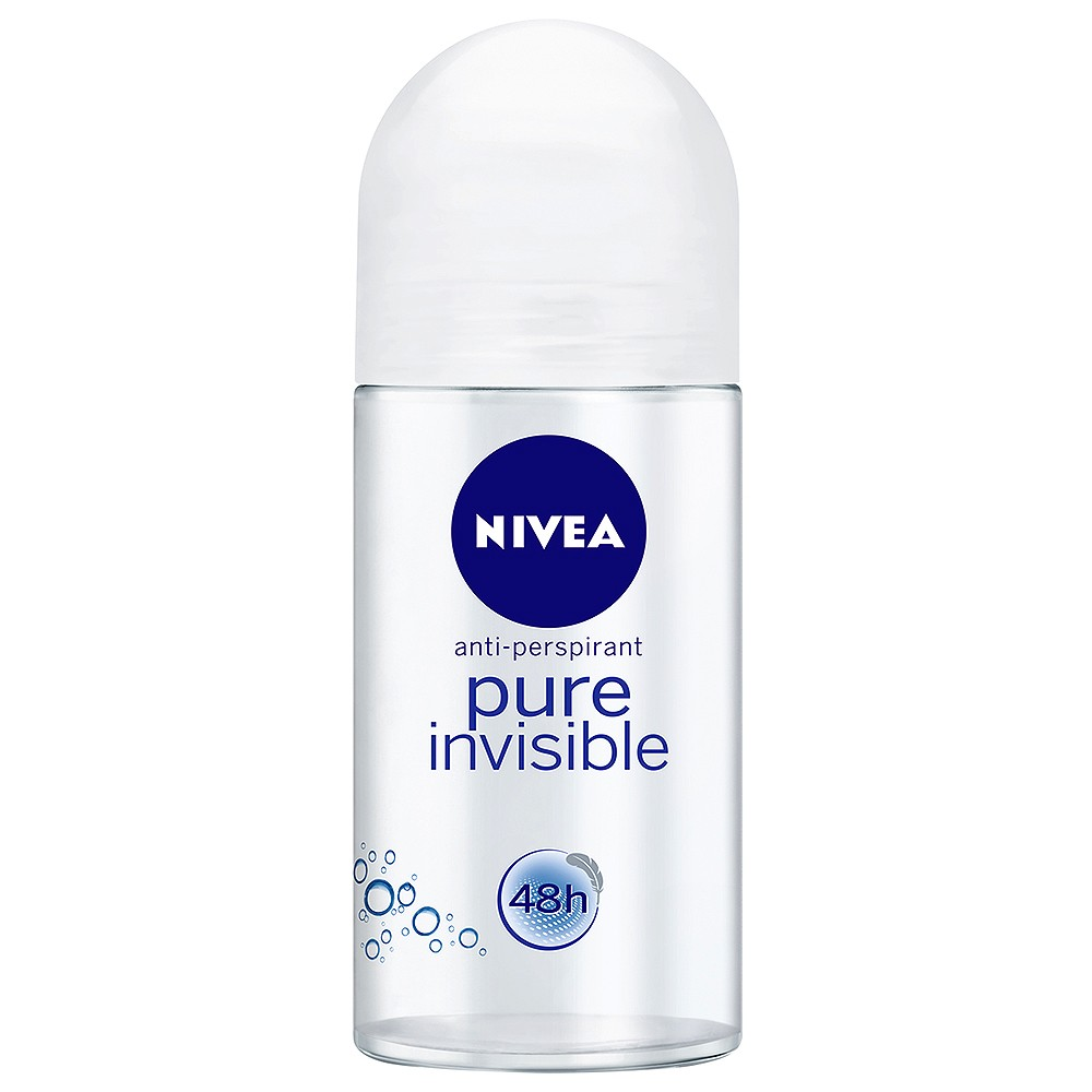Nivea Pure Invisible Roll-On, Αποσμητικό Roll-On 50ml