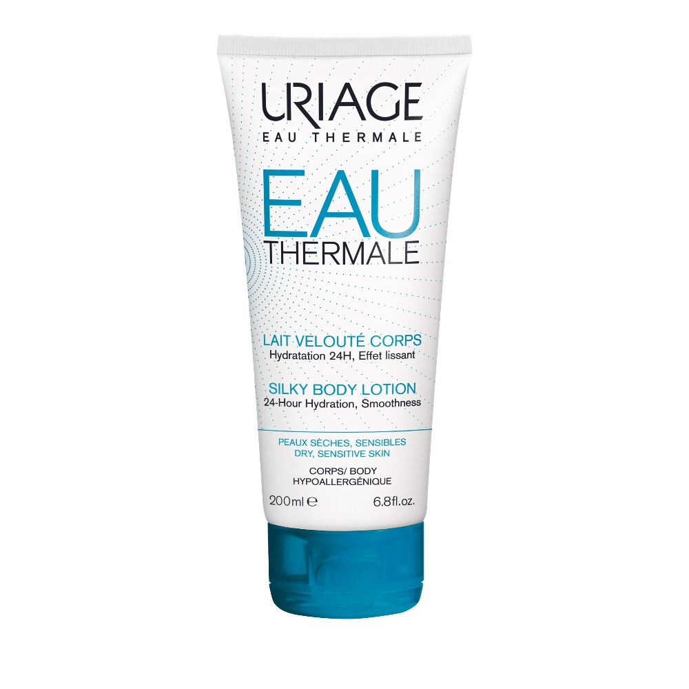 Uriage Eau Thermale Lait Veloute Corps Ενυδατικό Γαλάκτωμα Σώματος 200ml
