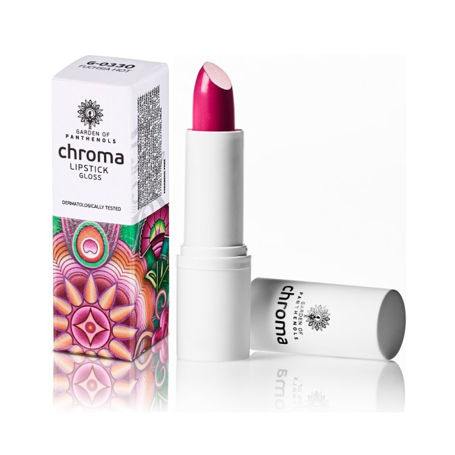 Garden Of Panthenols Chroma Lipstick G-0330 Fuchsia Hot 4gr